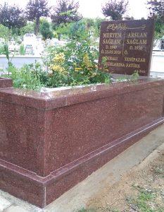 Tek Kişilik New İmperial Komple Granit Mezar