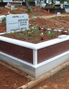 İki Kişilik New İmperial Gövde Granit Mezar