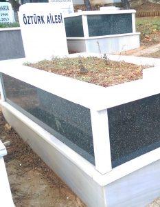 Tek Kişilik Verde Star Gövde Granit Mezar