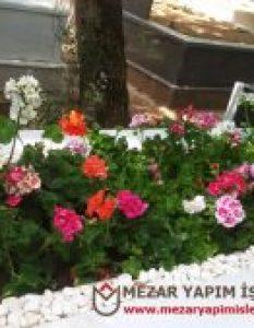 Mezar Çiçeklendirme ve Taş Serimi