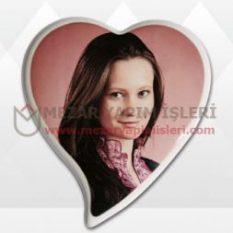 Porselen Resim Kalp