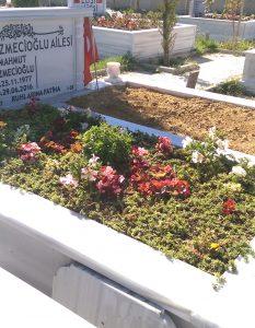 Şehit Mahmut Çizmecioğlu – Kıraç Yeni Mezarlığı