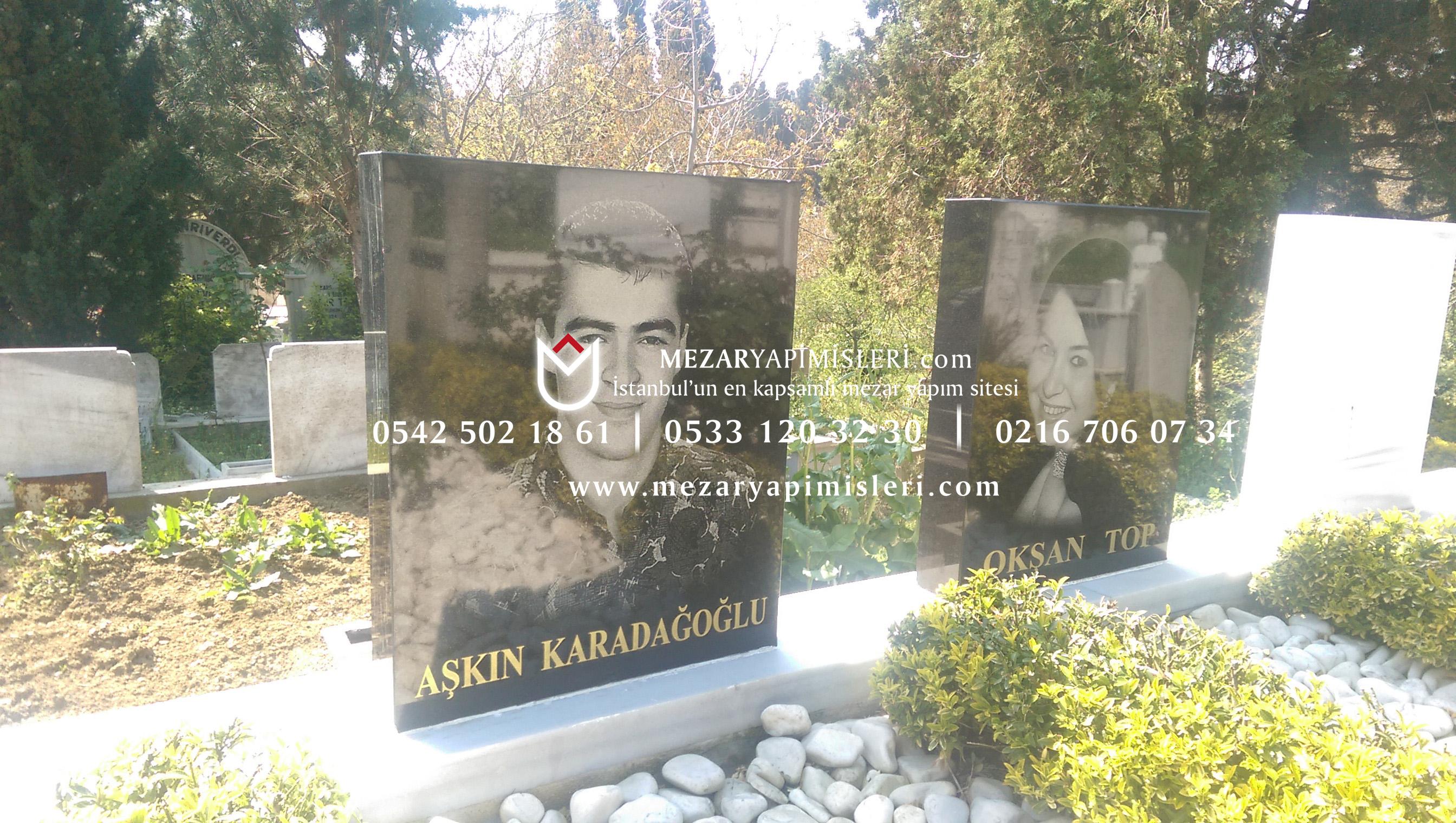 Mezar Baş Taşına Lazer Resim Uygulama Istanbul Mezar Yapımı