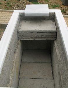 Katlı Lahit Mezar Yapımı Uygulaması