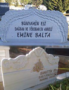 Özel İşlemeli Mezar Taşı Modelleri