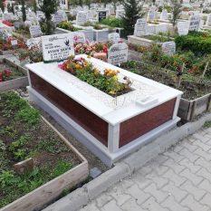 Tek Kişilik New İmperial Gövde Granit Mezar