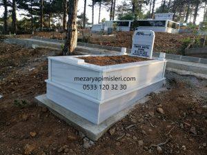 Baklacı Mezarlığı Mezar Yapımı
